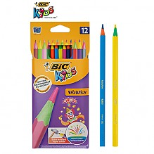 [BIC]에볼루션 서커스 색연필12색