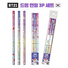 BT21 드림 연필 3P 세트